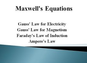 Maxwells Equations