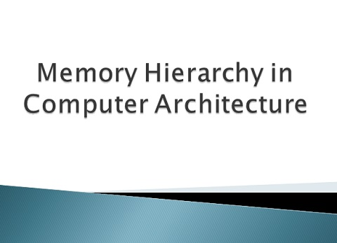 What Is Memory Hierarchy Definition Diagram Architecture And Advantages