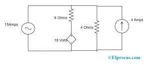Mesh Analysis To Find Voltage