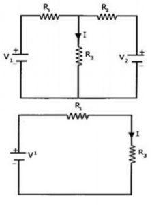 Millman's Theorem Experiment Circuit