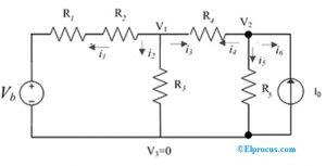 Nodal Analysis Circuit