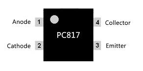 PC817 IC Pin Diagram