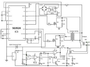 PWM Inverter Circuit Diagram