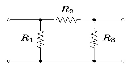 Attenuator with Pi Configuration