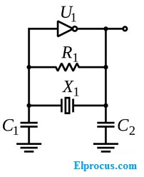 pierce-osiclator-circuit-diagram