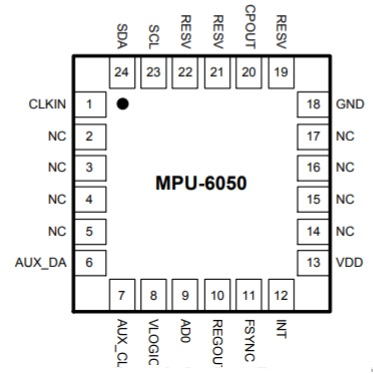 Pin-Diagram-of-MPU-6050