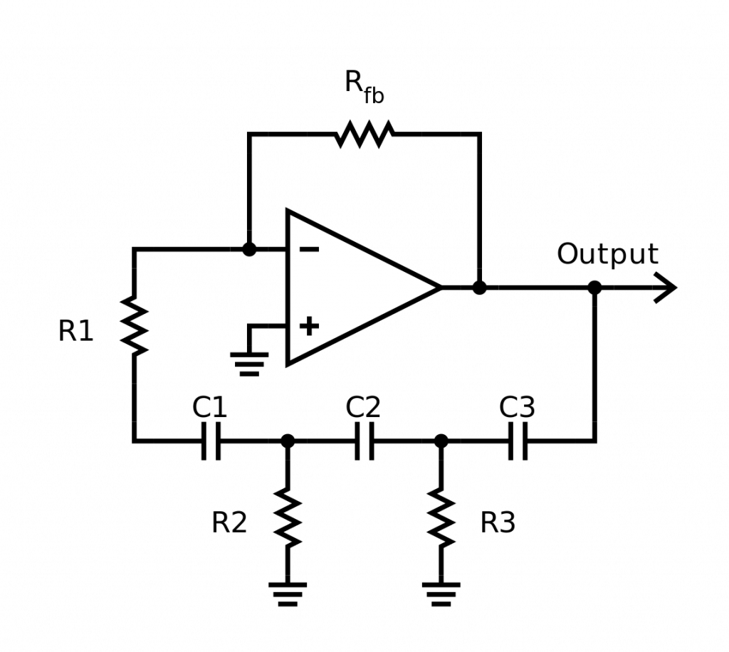 RC Phase Shift Oscillator