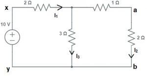 Reciprocity Theorem Circuit