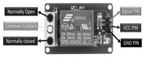 Relay Module Pin Diagram