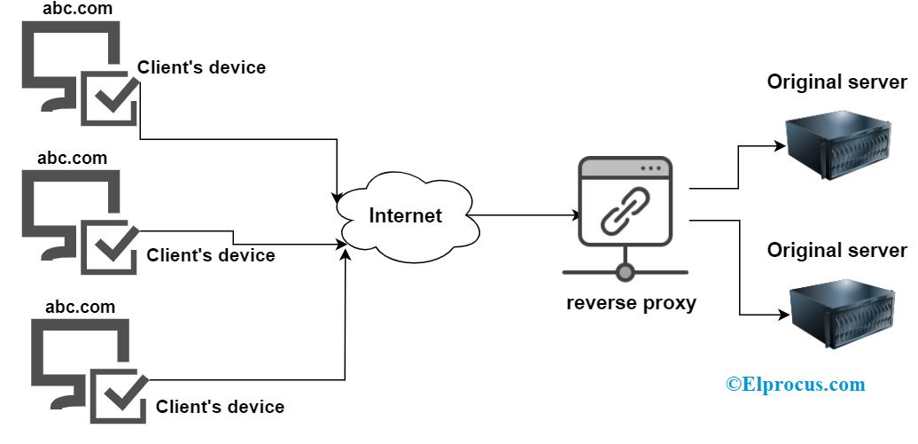 Reverse Proxy Flow