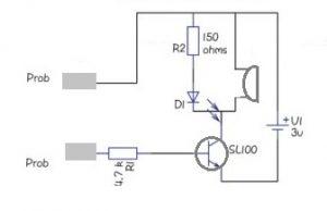 SL100 Transistor Circuit Diagram