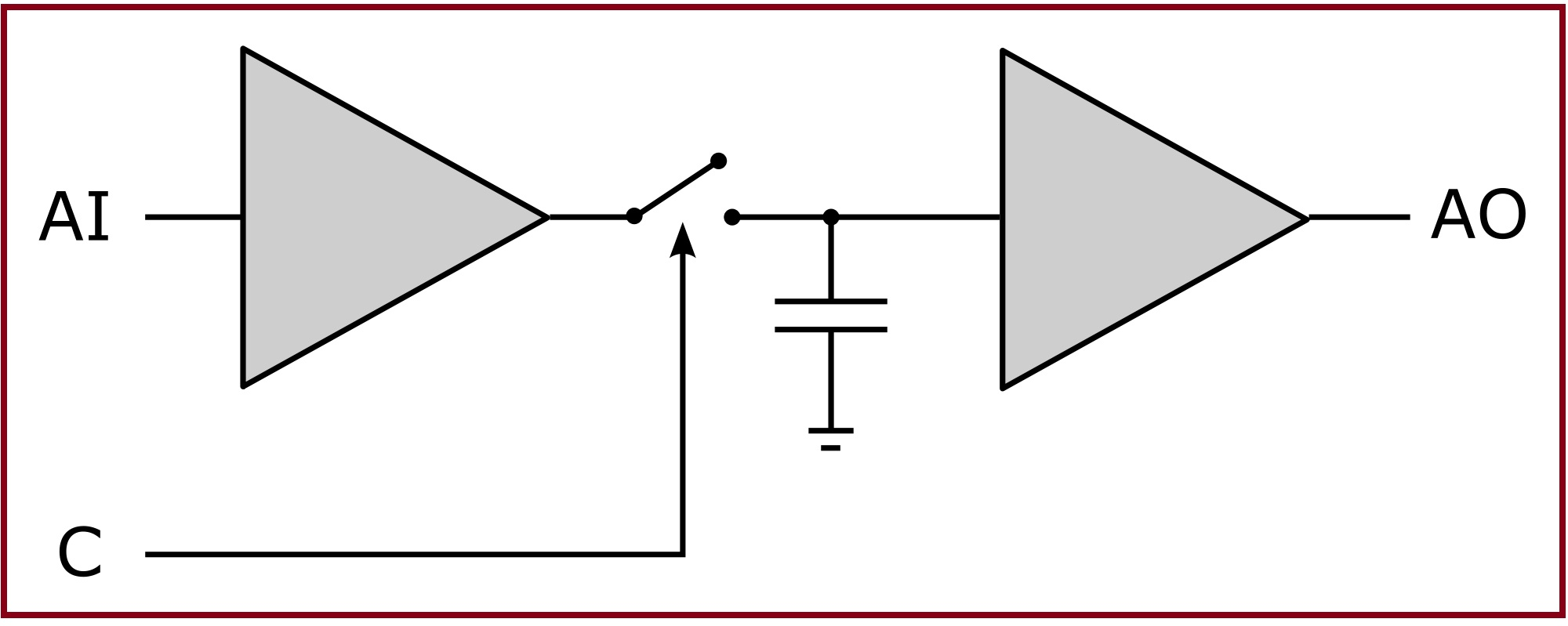 Designing Of A Sample And Hold Circuit Using Op Amp Simply Connects The Comparator Inverting Input To Voltage