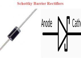 Schottky Barrier Rectifiers