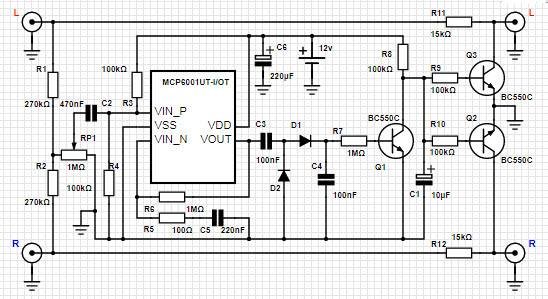 Stereo Noise Reduction Circuit