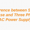 Difference between Single Phase and Three Phase AC Power Supply