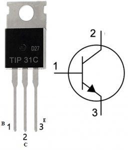 TIP31C NPN Transistor Pin Configuration