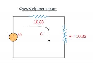 Thevenin circuit