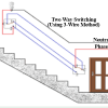 What is Two Way Switch Wiring : Circuit Diagram & Its Working