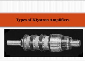 Types of Klystron Amplifiers