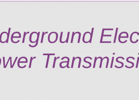 Underground electric power transmission featured