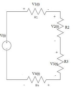 Voltage Divider Rule using Three Resistors