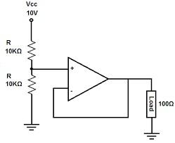 Voltage Follower in Voltage Divider