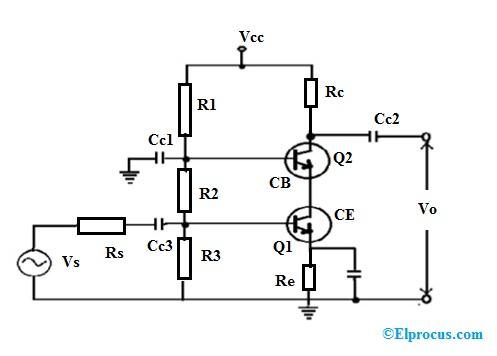 cascade-amplifier-circuit