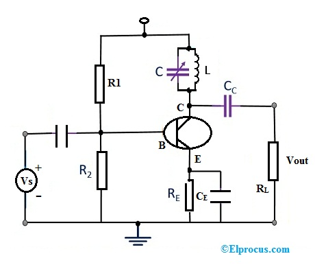 circuit-diagram-of-single-tuned-amplifier