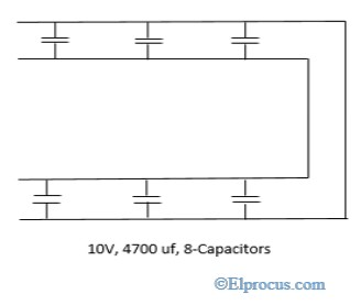 connection-of-capacitors-in-a-parallel