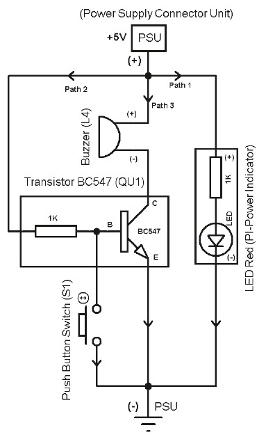 Push Button Switch in Reverse Function
