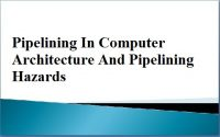 Pipelining in Computer Architecture