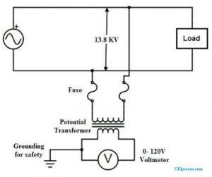 Potential-Transformer-Circuit-Diagram