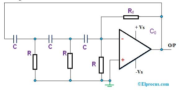rc-oscillator-using-op-amp