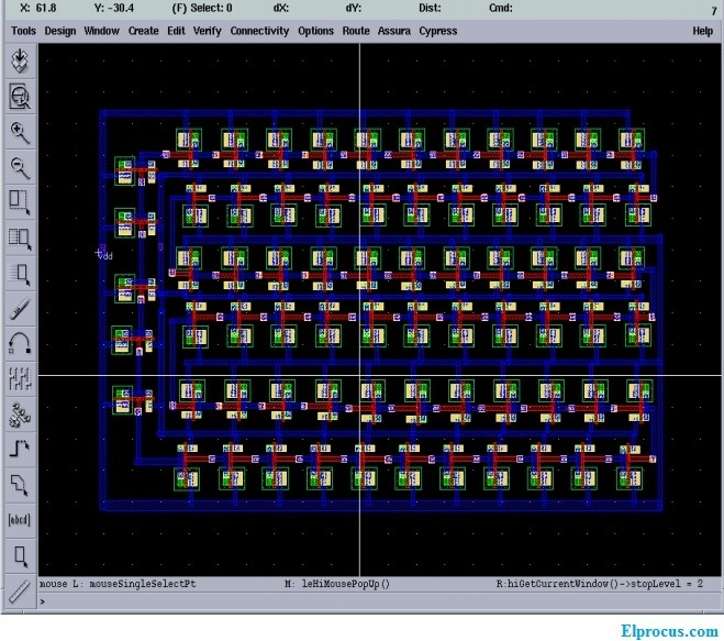 ring-oscilator-layout-71-stages