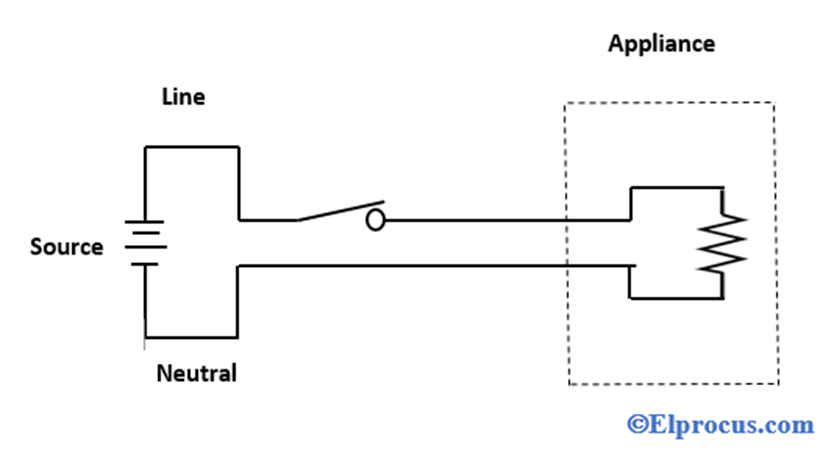 Schematic-Diagram-of-An-Electrical-Circuit