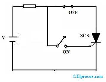 scr-triggering-circuit