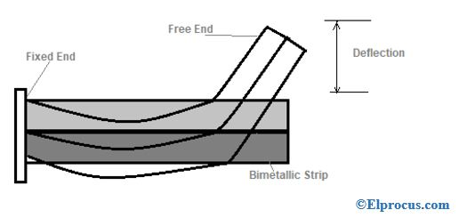 Strip Fixed At One End