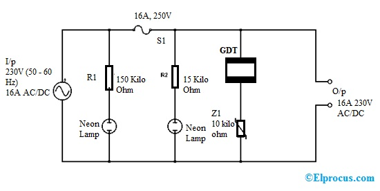 Surge Protector   Working  Circuit Diagram  Types And Its Applications