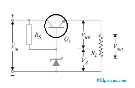 transistor-series-voltage-regulator-circuit-diagram